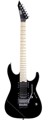 ESP M-II DX M BK (Maple, Black)