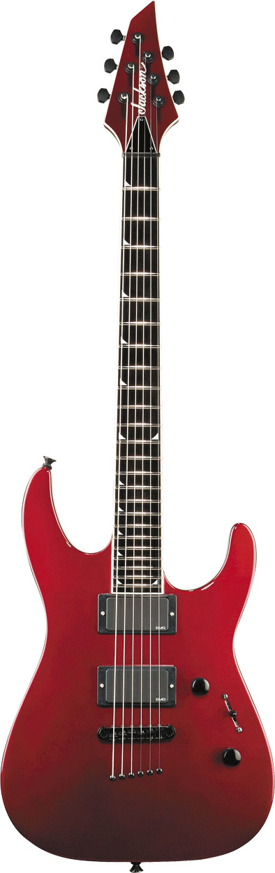JACKSON MG SERIES SLSMG SUPER LIGHTWEIGHT SOLOIST™ Inferno Red