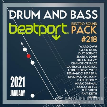 Beatport Drum And Bass: Electro Sound Pack #218 (2021)